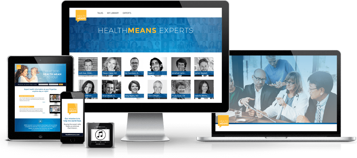 HealthMeans 7 Day Site Online Only Access